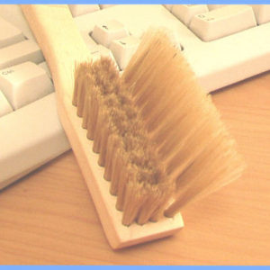 Keyboard Stepped Cleaning Brush